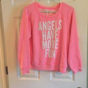 Victoria Secret light pink Sweater size S